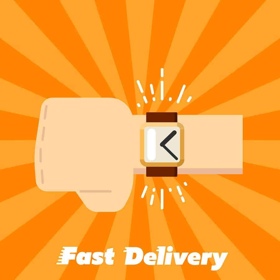 Shipping and Fulfillment Time and Speed