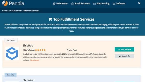 Top Fulfillment Services